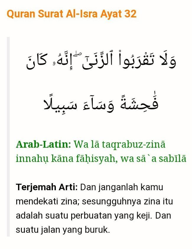Jangan Dekati Zina! - Majalah Islam Asy-Syariah