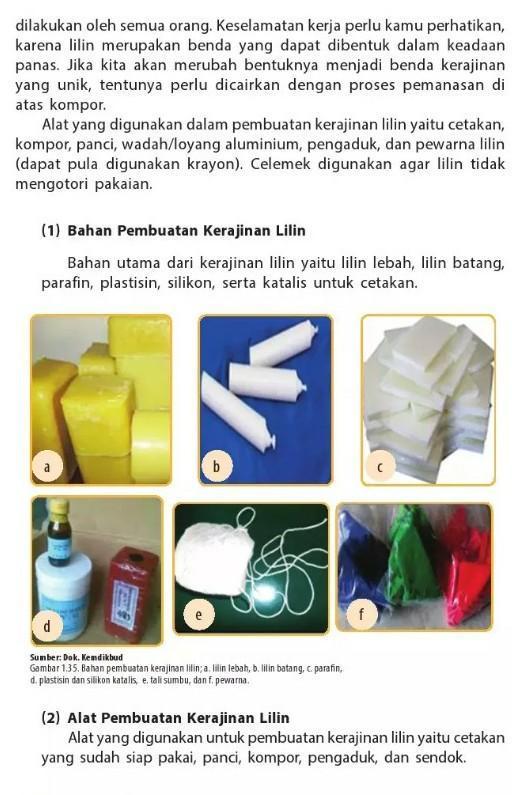 Alat Yang Digunakan Untuk Membuat : digunakan, untuk, membuat, 1.Sebutkan, Digunakan, Kerajinan, Lilin!Jawab:2.Terangkan, Kegunaan, Tungku, Brainly.co.id