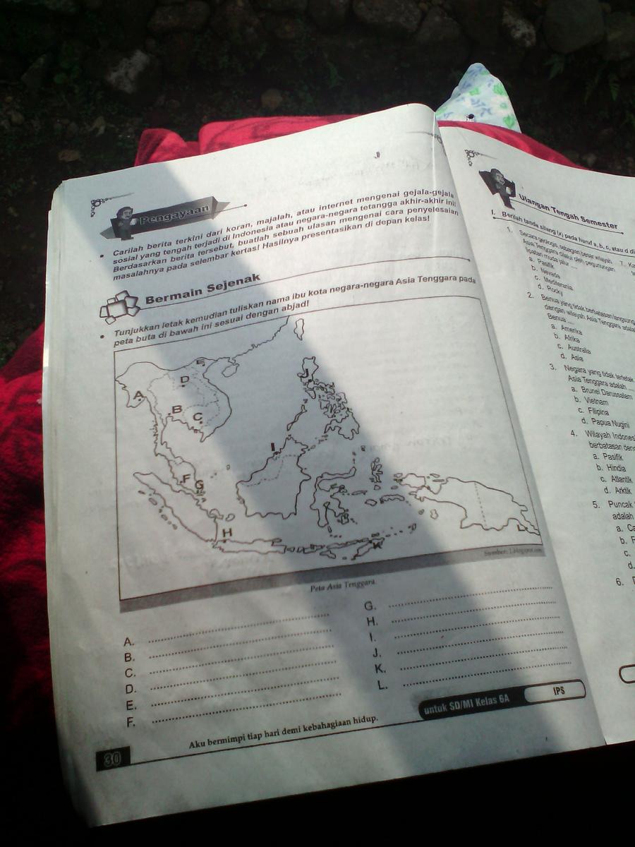 Peta Buta Asean : asean, Tolong, Kerjakan, Bawah, Tunjukkan, Letak, Kemudian, Tuliskan, Ibukota, Negara-negara, Brainly.co.id