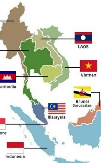 Negara Asia Tenggara Yg Tidak Memiliki Laut : negara, tenggara, tidak, memiliki, Wilayah, Tenggara, Terdapat, Negara, Hanya, Memiliki, Daratan., Brainly.co.id