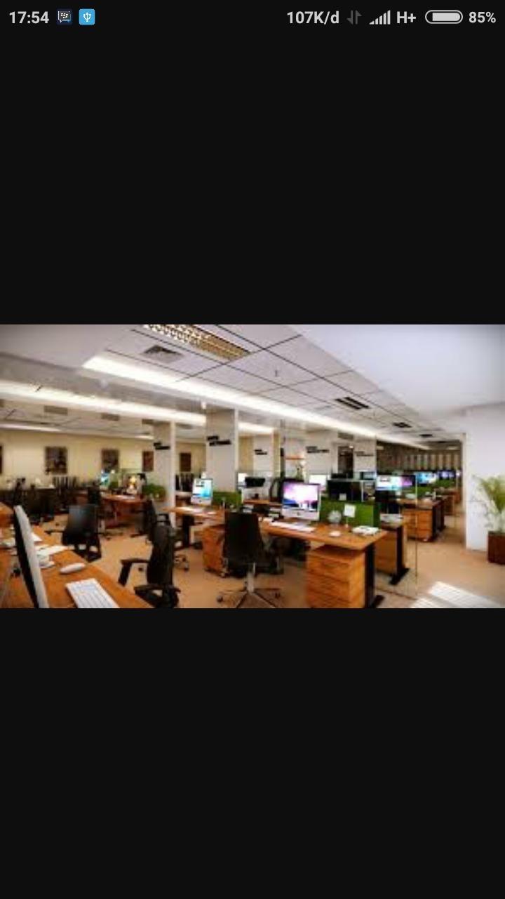 Gambar Tata Ruang Kantor Terbuka : gambar, ruang, kantor, terbuka, Gambar, Ruang, Kantor, Model, Rumah, Minimalis