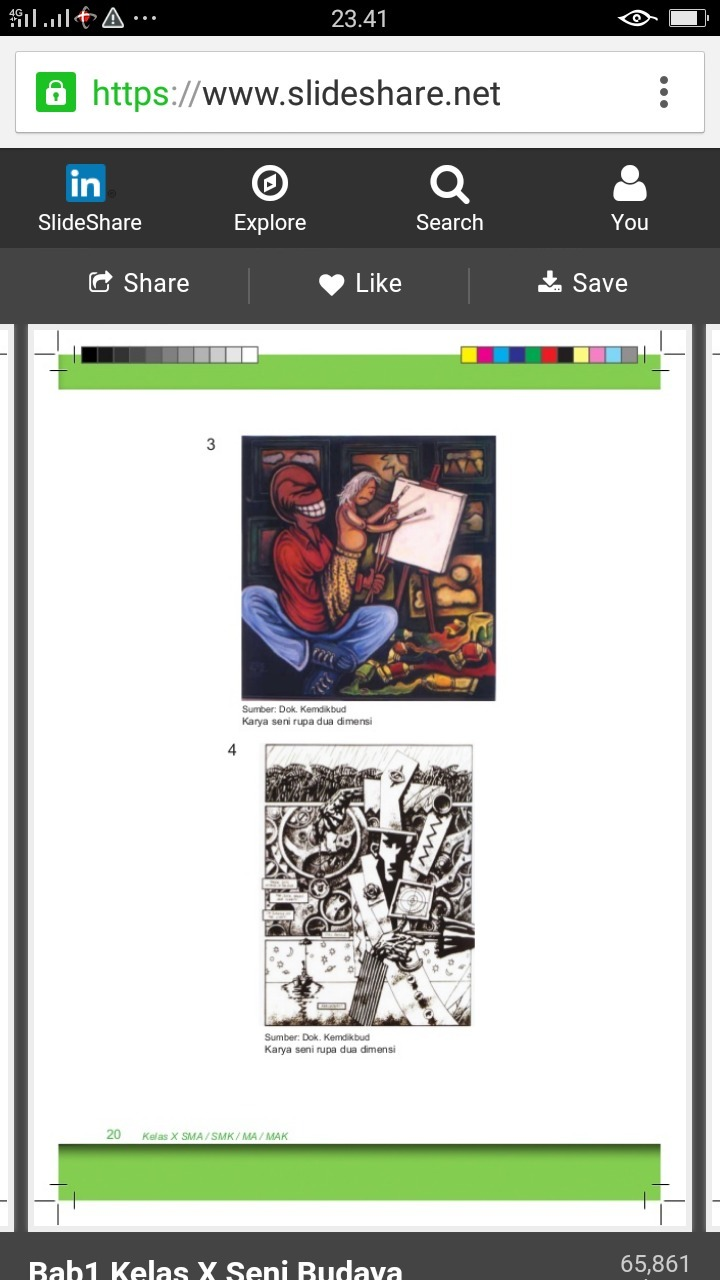 berkarya seni rupa 2D (unsur dan objek (Tekstur (Tekstur