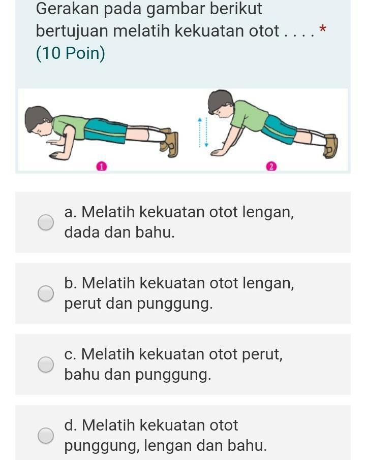 Gerakan Melatih Otot Tangan : gerakan, melatih, tangan, Bantuin, Mksh.., Tgs.., Brainly.co.id