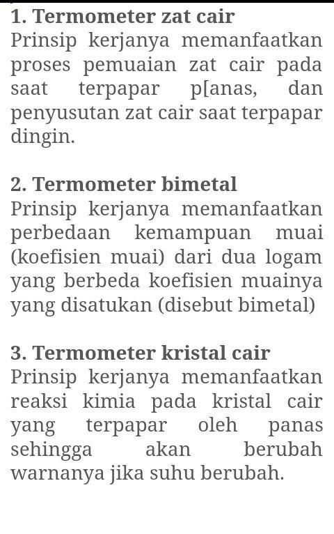 Cara Kerja Termometer Bimetal : kerja, termometer, bimetal, Bagaimana, Prinsip, Kerja, Termometer, Cair,bimetal,dan, Kristal, Brainly.co.id