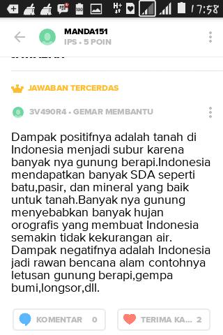 Letak Geologis Indonesia : letak, geologis, indonesia, Sebutkan, Implikasi, Letak, Geologis, Indonesia!, Brainly.co.id