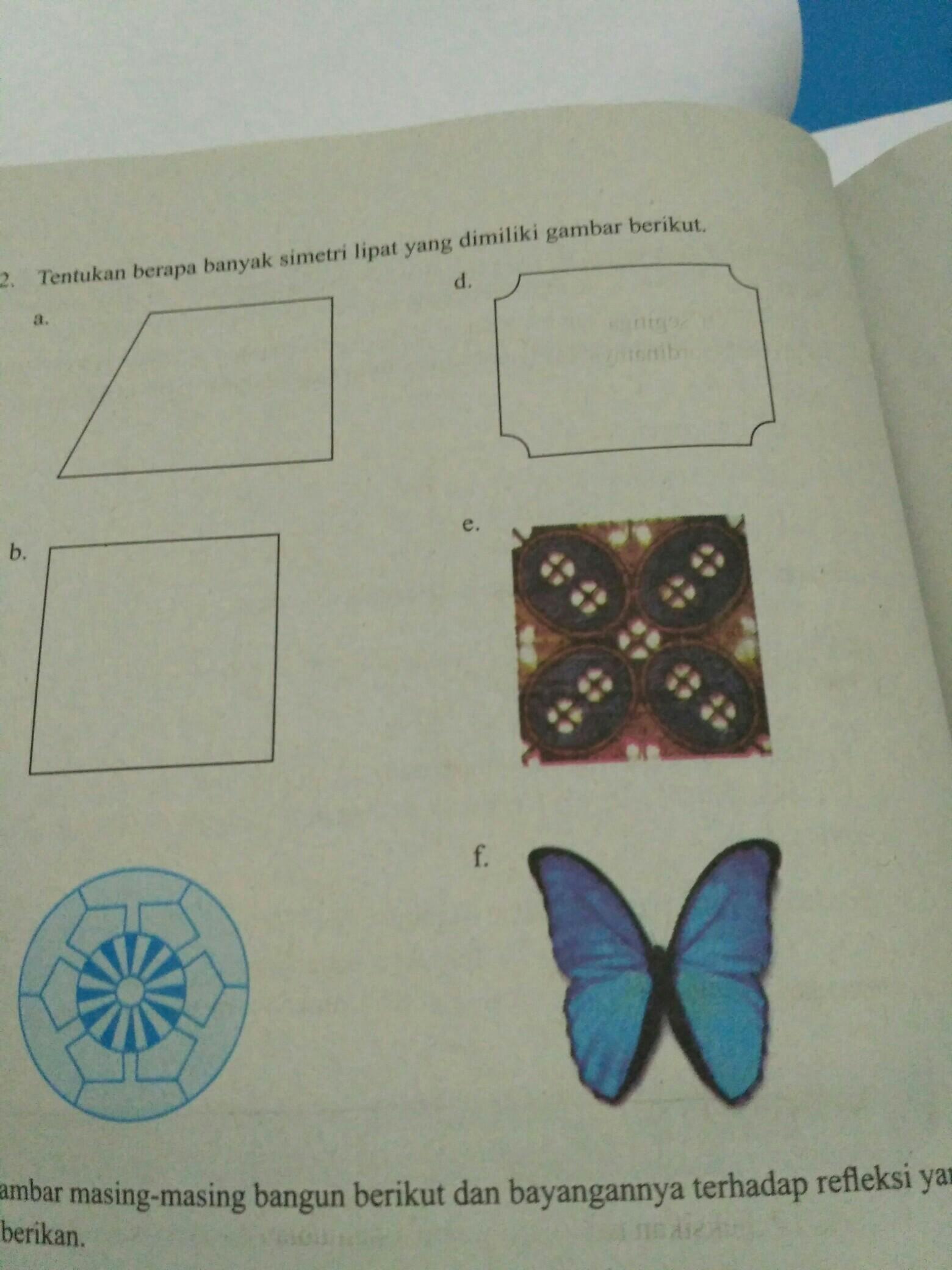 Tentukan Jumlah Simetri Lipat Pada Bangun Datar Berikut : tentukan, jumlah, simetri, lipat, bangun, datar, berikut, Tentukan, Berapa, Banyak, Sumbu, Simetri, Lipat, Brainly.co.id