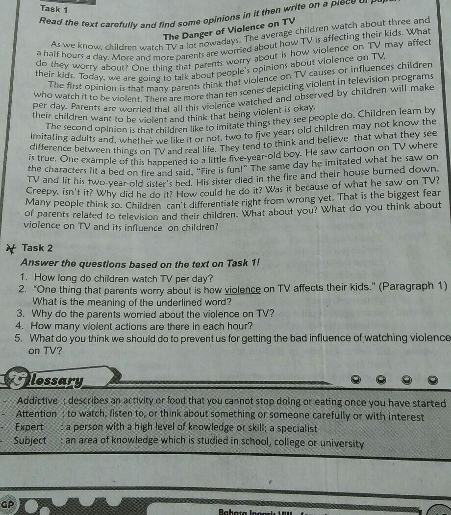 Kunci jawaban bahasa inggris lks kelas 8 kunci jawabanku. Jawaban Lks Bahasa Inggris Kelas 8 Halaman 13 Taks 2tolong Ya Kak Brainly Co Id