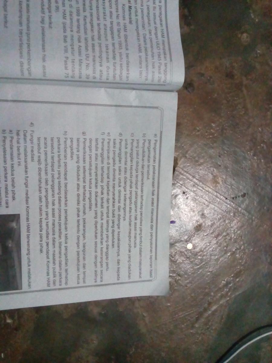 Fungsi Dan Wewenang Komnas Ham : fungsi, wewenang, komnas, Sebutkan, Kewenangan, Komnas, Dalam, Fungsi, Pemantauan, Brainly.co.id