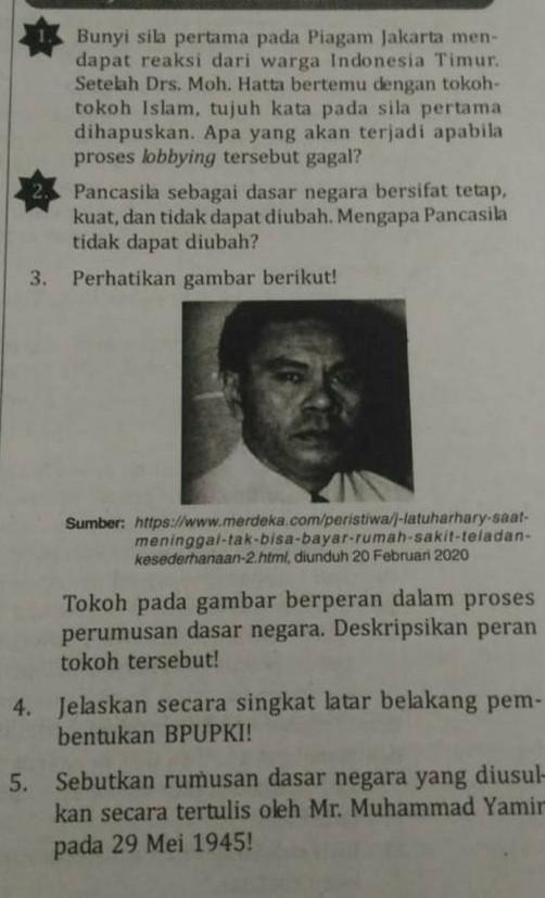 Pancasila: Dasar Kehidupan Bersama Bangsa Indonesia - Character...