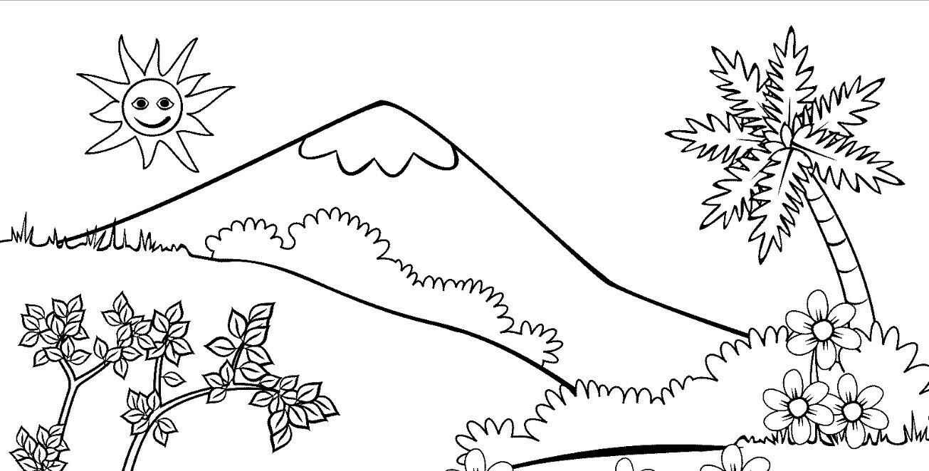 buatlah 2 sket gambar flora dan fauna - Brainly.co.id