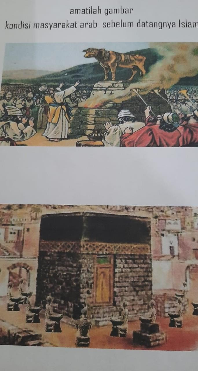 Kondisi Masyarakat Arab Sebelum Islam : kondisi, masyarakat, sebelum, islam, Tolong, Cerita, Gambar, Tersebut, Kondisi, Bangsa, Sebelum, Datangnya, Islam, Brainly.co.id