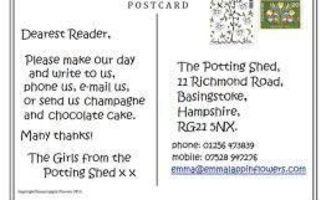 Terkini Contoh Postcard Tentang Liburan