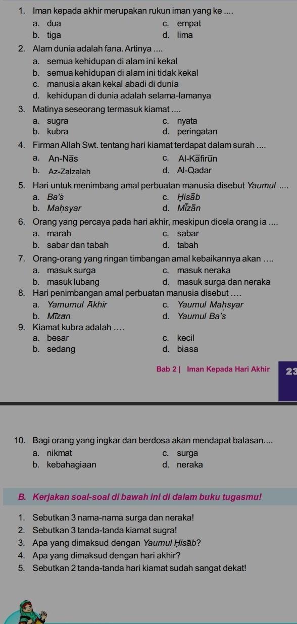 Sebutkan 10 Tanda-tanda Kiamat Kubra : sebutkan, tanda-tanda, kiamat, kubra, Tolong, Bantuin, Kak!!, Brainly.co.id