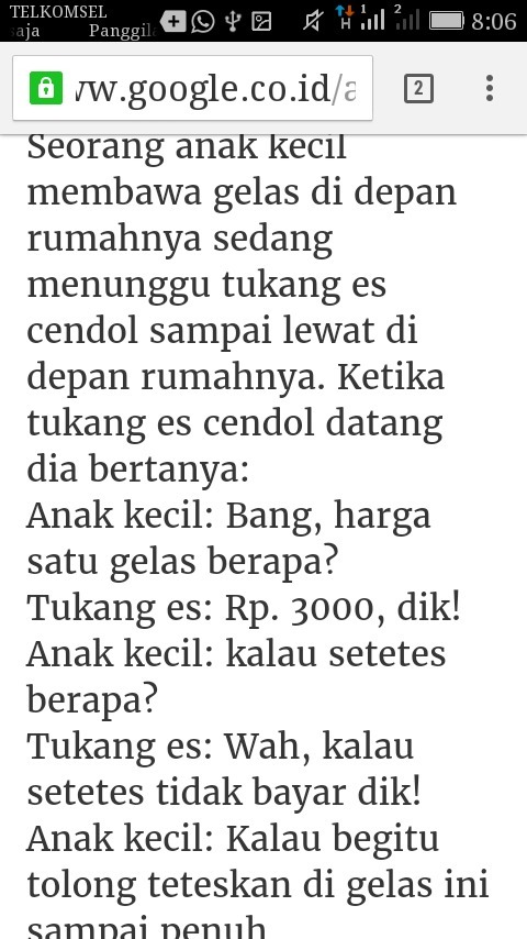 Contoh Cerpen Lucu : contoh, cerpen, CONTOH, CERITA, DEGAN, SINGKAT, Brainly.co.id