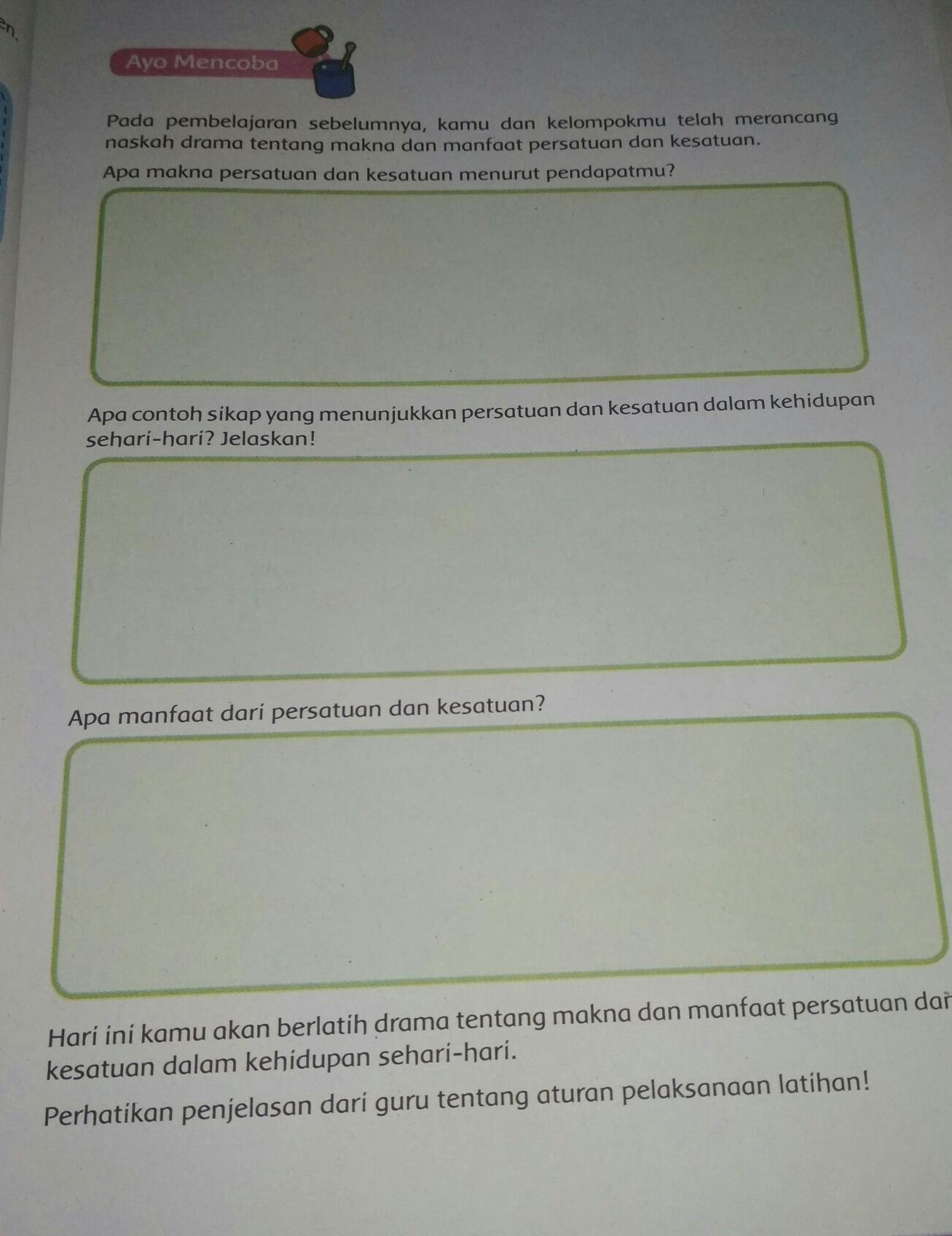 kunci jawaban tema 2 kelas 4 hal 44, 45, 46, 48, 49 dan 50 di bawah ini dirangkum tribunpadang.com dari berbagai sumber, sebagai panduan orang tua. Jawaban Kelas 6 Tema 2 Halaman 79 Brainly Co Id