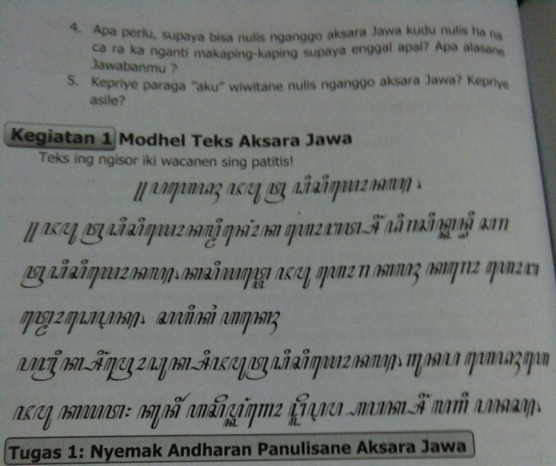Rpp kelas vii ini ditujukan buat para guru yang membutuhkan materi bahasa jawa, semoga bermanfaat. Jawaban Bahasa Jawa Kelas 7 Hal 108 Brainly Co Id