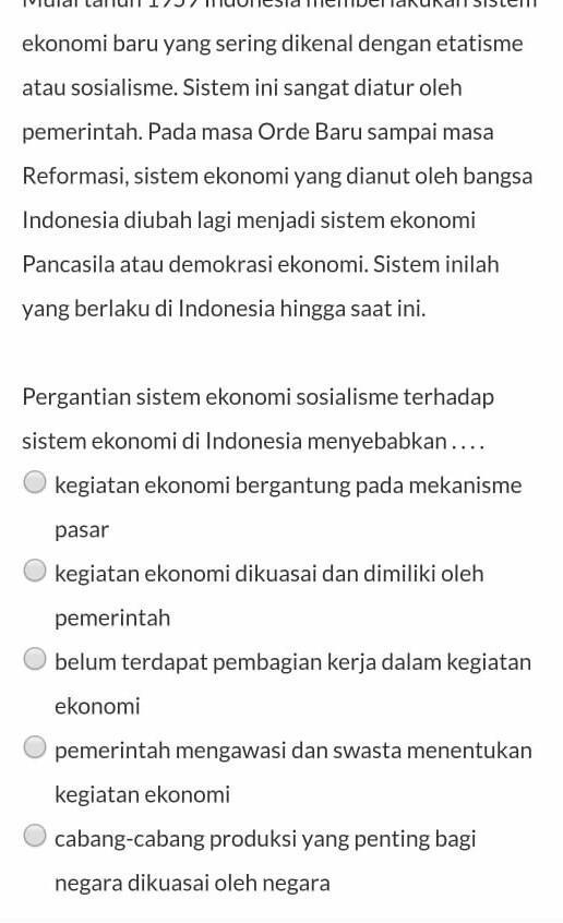 Indonesia Menganut Sistem Ekonomi : indonesia, menganut, sistem, ekonomi, Minta, Bantuannya, Ekonomi..Indonesia, Pernah, Menganut, Sistem, Ekonomi, Liberal, Kapitalis, Brainly.co.id