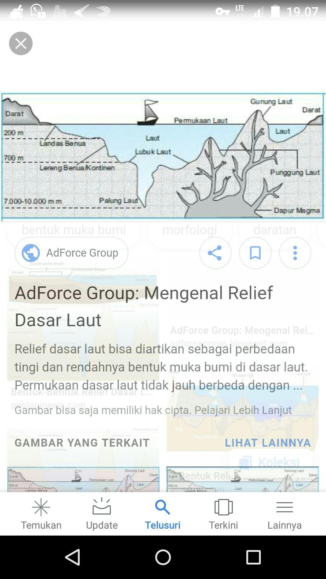 Relief Dasar Laut Adalah : relief, dasar, adalah, Bentukan, Dibawah, Merupakan, Relief, Dasar, Brainly.co.id