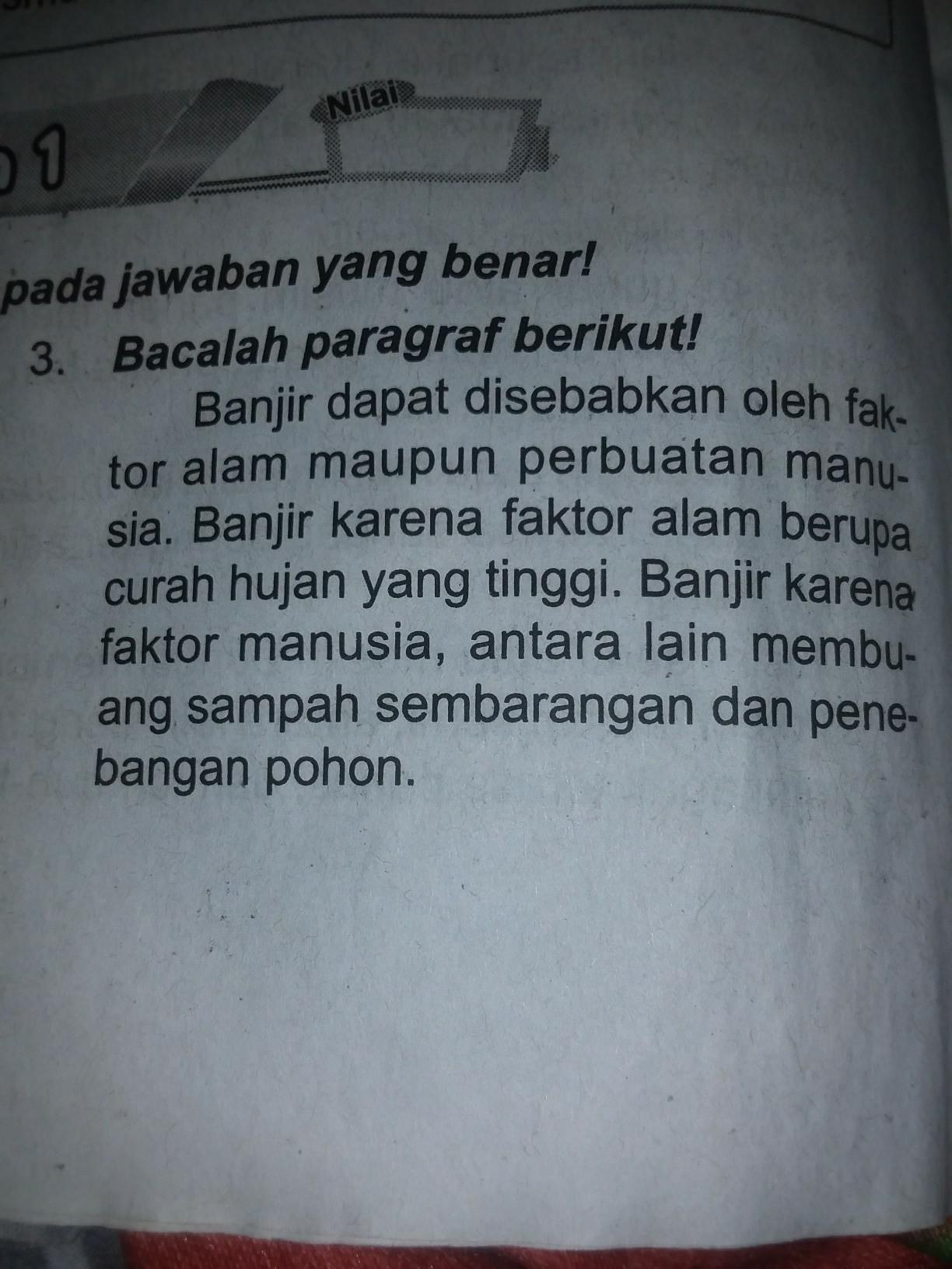 Inti Paragraf : paragraf, Informasi, Paragraf, Adalah, Brainly.co.id