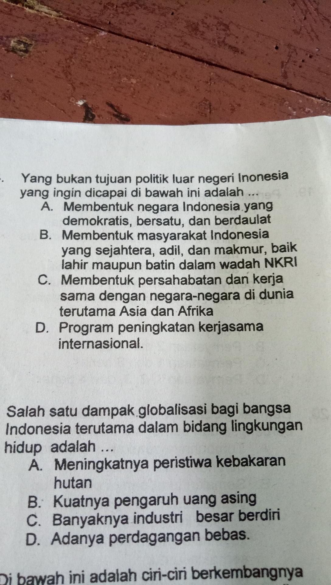 Tujuan Politik Luar Negeri Indonesia Adalah : tujuan, politik, negeri, indonesia, adalah, Tujuan, Politik, Negeri, Indone, Brainly.co.id