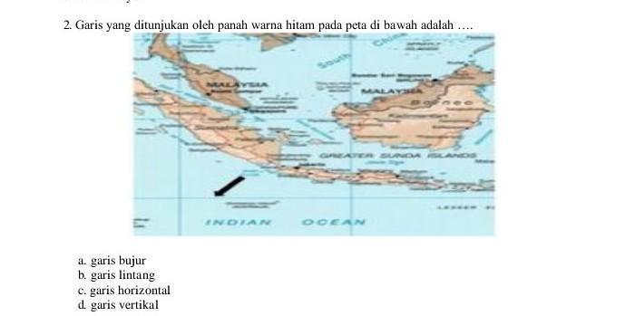 Kumpulan gambar tentang peta dunia hitam putih hd, klik untuk melihat koleksi. Garis Yang Ditunjukan Oleh Panah Warna Hitam Pada Peta Di Bawah Adalah A Garis Bujurb Garis Brainly Co Id