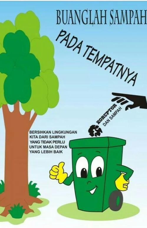 Buang Sampah Pada Tempatnya Logo : buang, sampah, tempatnya, Gambar, Poster, Membuang, Sampah, Tempatnya, Goresan