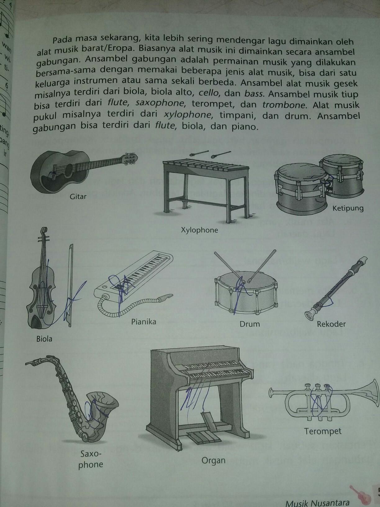 Sebutkan Alat Musik Modern : sebutkan, musik, modern, Sebutkan, Contoh, Musik, Ritmis, Brainly