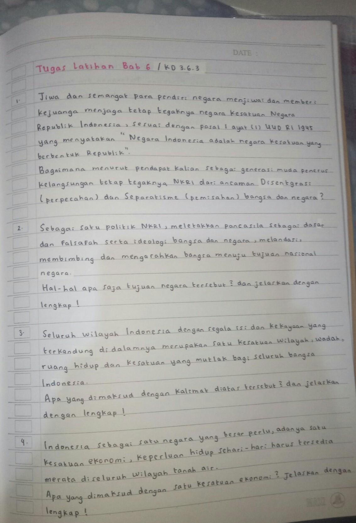 Indonesia Sebagai Satu Kesatuan Politik : indonesia, sebagai, kesatuan, politik, Tolong, Dijawab, Mohon, Bantuannya:), Brainly.co.id