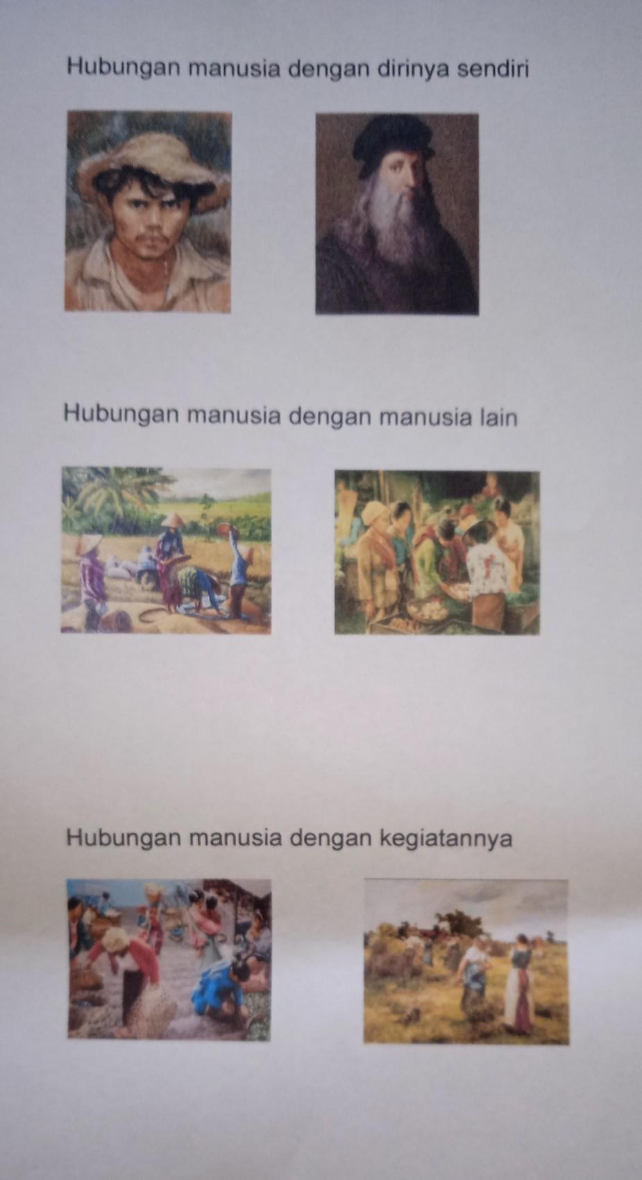 Contoh Lukisan Hubungan Manusia Dengan Kegiatannya : contoh, lukisan, hubungan, manusia, dengan, kegiatannya, Hubungan, Manusia, Dengan, Judul, Lukisan