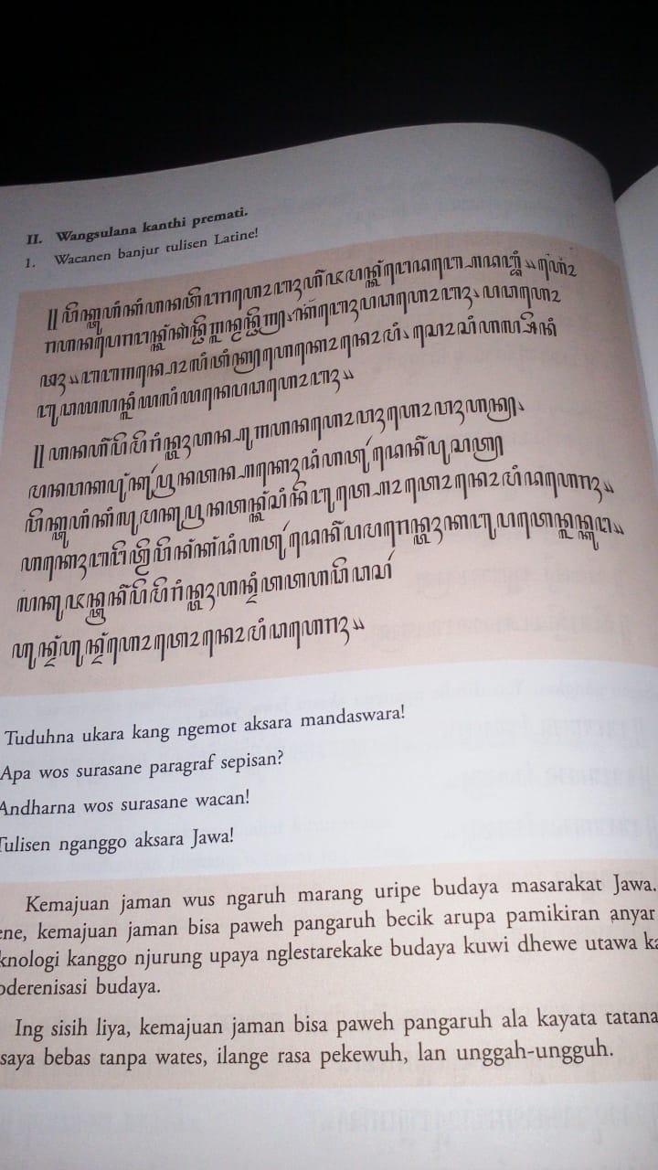 Dengan revisi dengan revisi materi menika… Soal Aksara Jawa Kelas 10 Mohon Bantuannya Ya Kak Di Translate Ke Huruf Latin Brainly Co Id