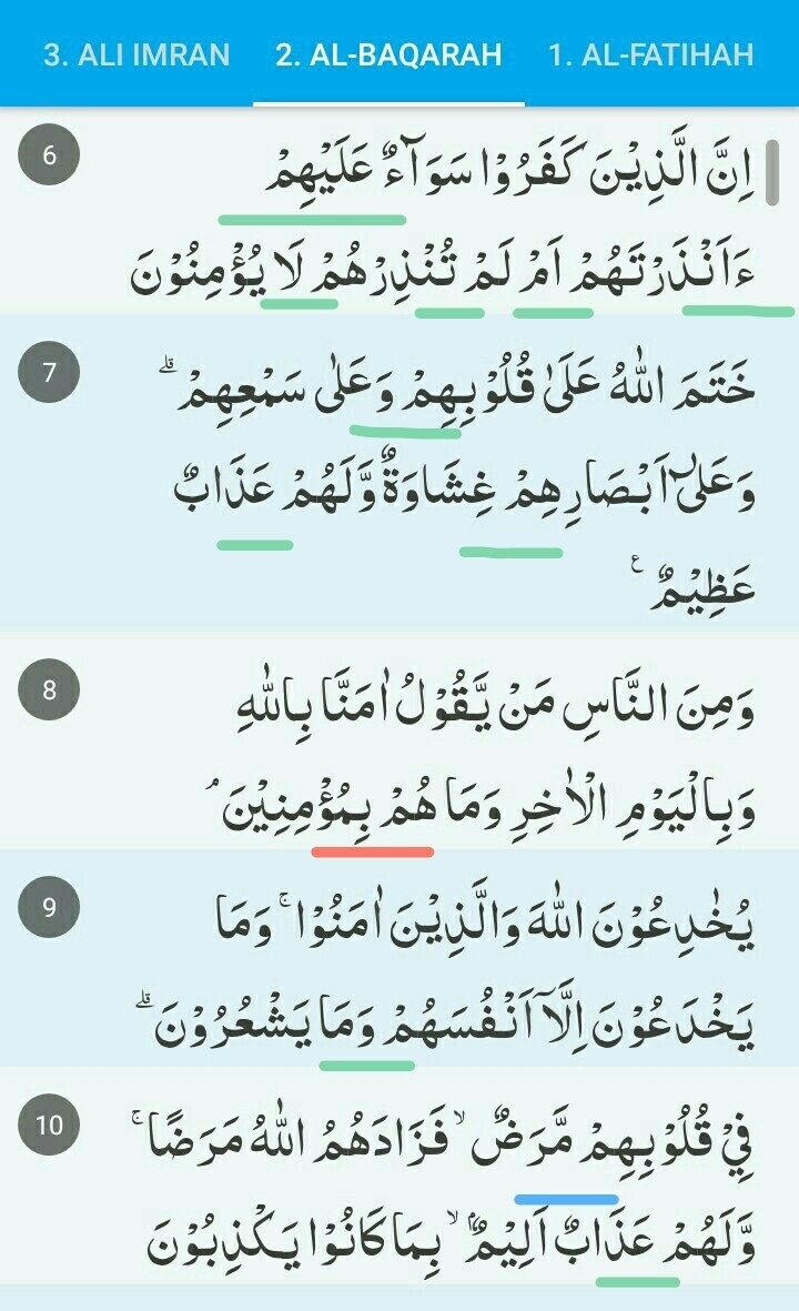 Contoh Bacaan Idgham Mimi : contoh, bacaan, idgham, Contoh, Ikhfa, Syafawi, Dalam, Surah, Baqarah, Temukan