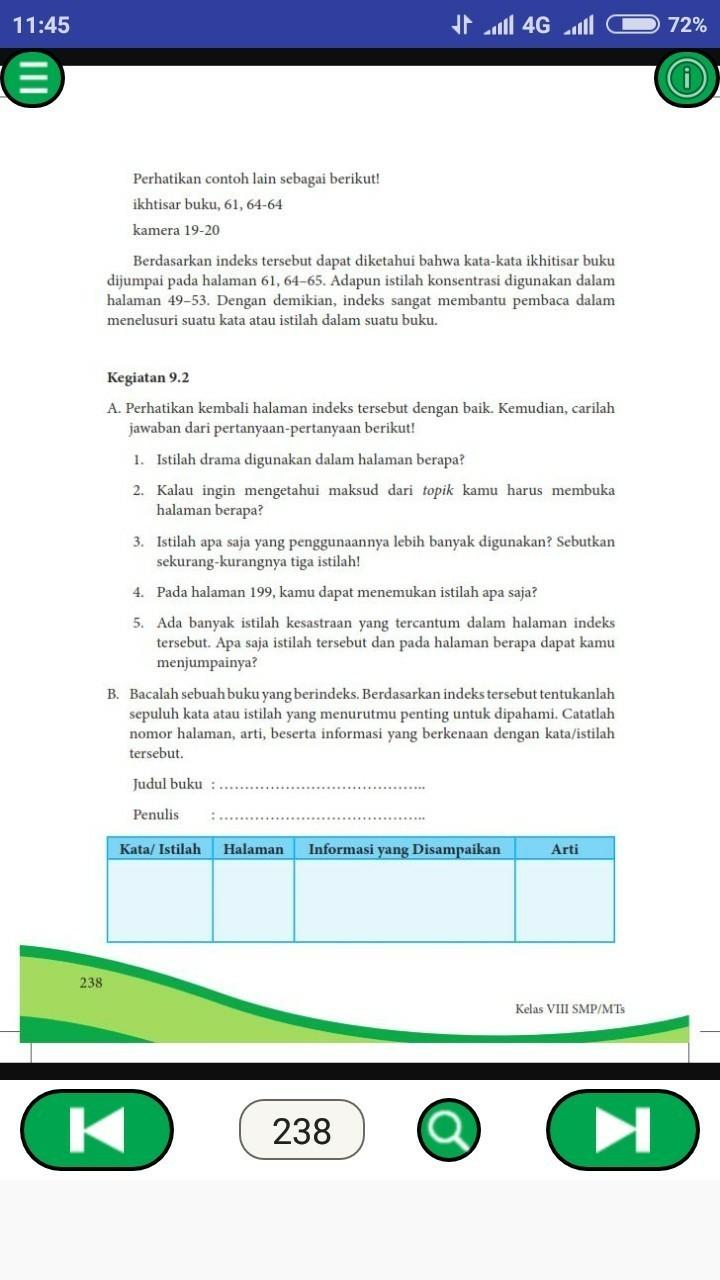 Lengkap - 35+ Contoh Soal UAS Bahasa Indonesia Kelas 9 SMP