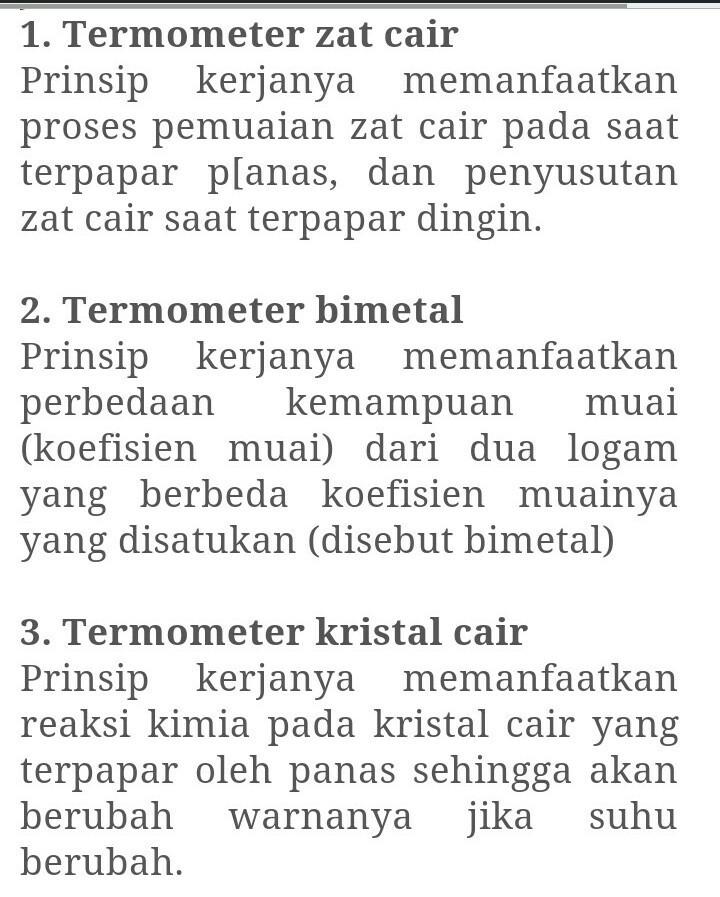 Gambar Termometer Kristal Cair : gambar, termometer, kristal, Jelaskan, Pengertian, Bagaimana, Prinsip, Kerja, Termometer, Cair,, Bimetal,dan, Brainly.co.id