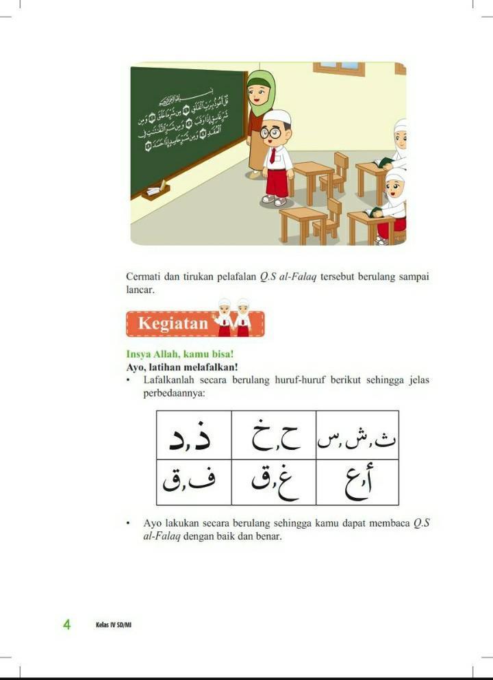 Allah mempunyai sifat wajib yang jumlahnya …. Kunci Jawaban Pendidikan Agama Islam Dan Budi Pekerti Kelas 4 Ceritakan Gambar Halaman 4 Brainly Co Id