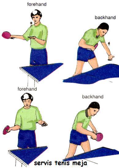 Teknik Dalam Tenis Meja : teknik, dalam, tenis, Melakukan, Servis,bola, Pingpong, Brainly.co.id