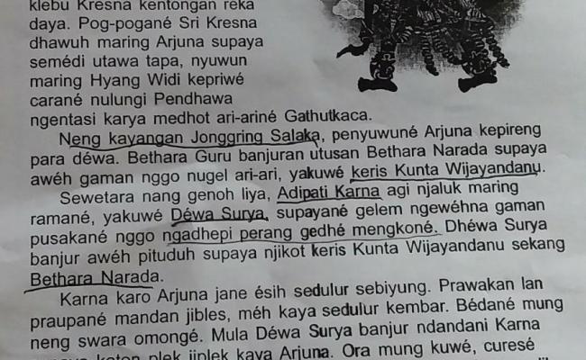 Tugas Materi Carita Wayang Sunda Cute766