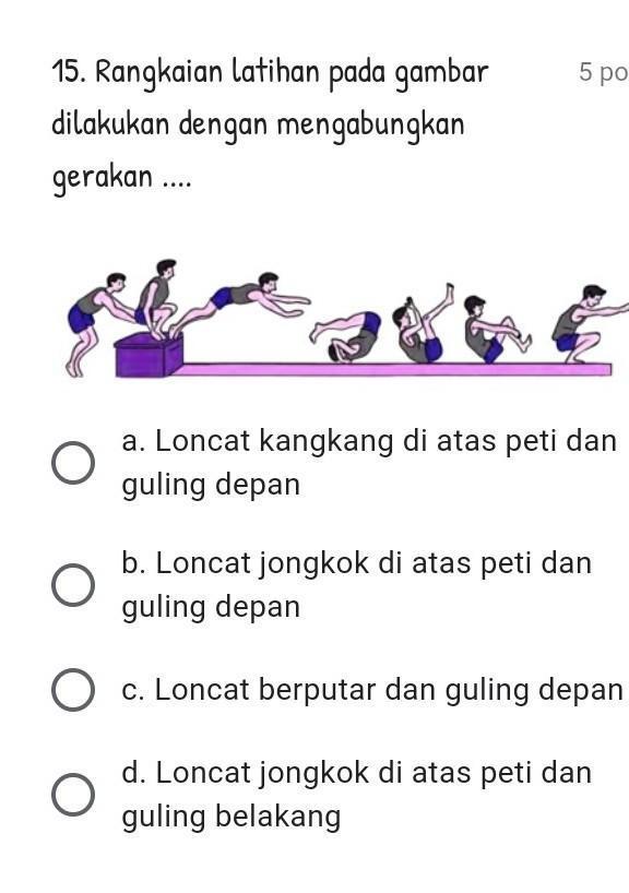 Loncat Jongkok : loncat, jongkok, Tolong, Jawab, Plssss, Brainly.co.id