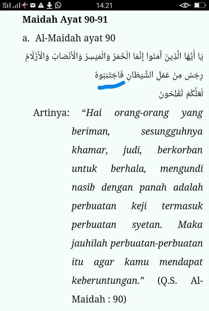 Qolqolah Adalah : qolqolah, adalah, Qolqolah, Sugro, Kubro, Dalam, Surah, Al-maidah, Brainly.co.id