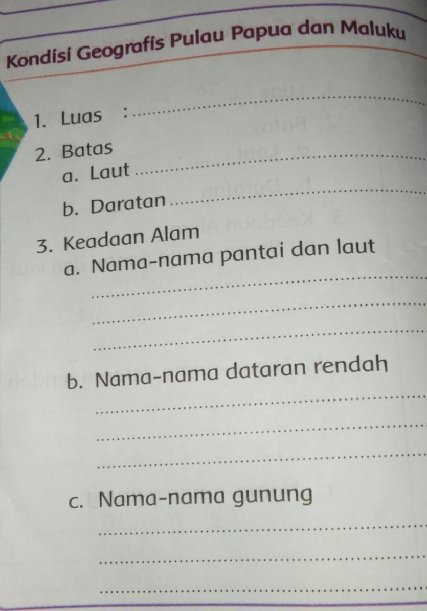 Nama Nama Gunung Di Pulau Papua Dan Maluku : gunung, pulau, papua, maluku, Kondisi, Geografis, Pulau, Papua, Maluku,, Jawab, Brainly.co.id