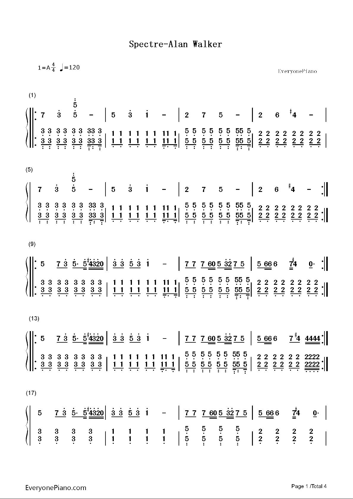 Lirik Lagu Ignite Alan Walker : lirik, ignite, walker, Tolong, Kasih, Angka, Pianika, Walker, Spectre, Brainly.co.id