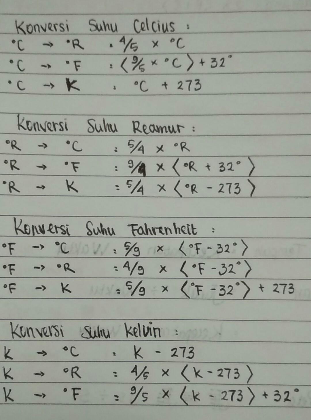 Celcius Ke Kelvin : celcius, kelvin, Rumus, Mengonversikan, Celcius, Kelvin2., Kelvin, Celcius3., Reamur4., Brainly.co.id