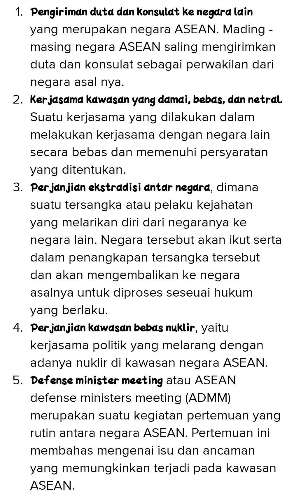 Kerjasama Di Bidang Politik : kerjasama, bidang, politik, Sebutkan, Kerjasama, ASEAN, Bidang, Politik., Brainly.co.id