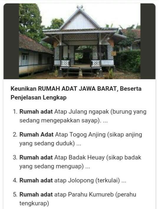 Keunikan Jawa Barat : keunikan, barat, Rumah, Barat, Beserta, Gambar, Terbaru