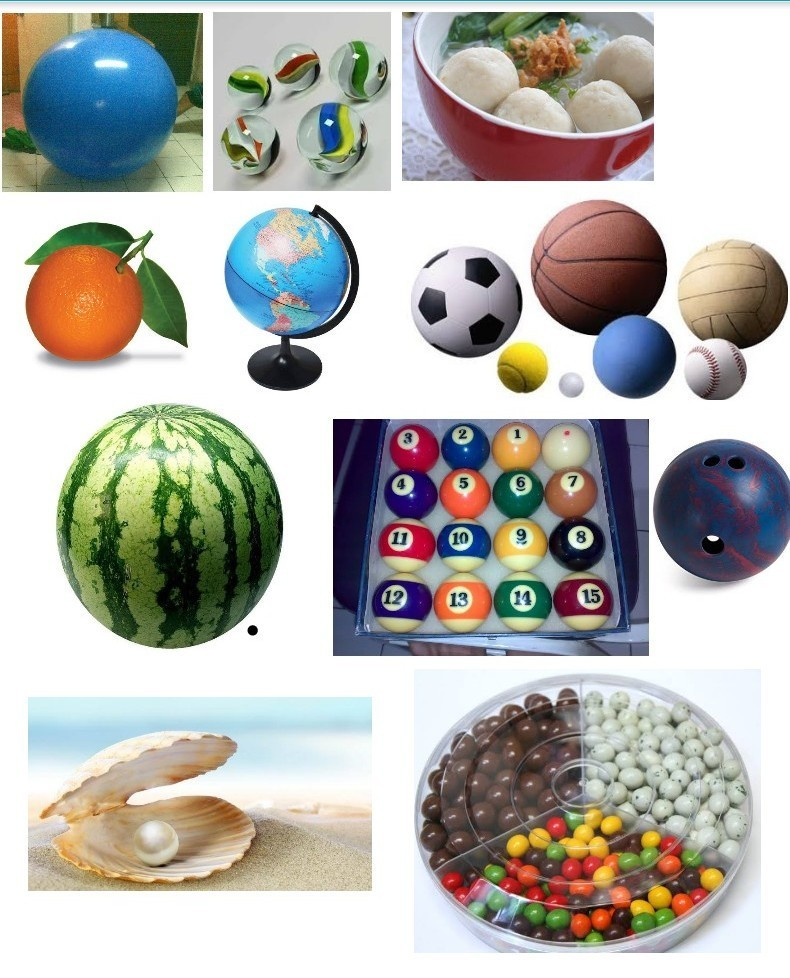 Contoh Benda Yang Berbentuk Bola : contoh, benda, berbentuk, Gambar, Bentuk