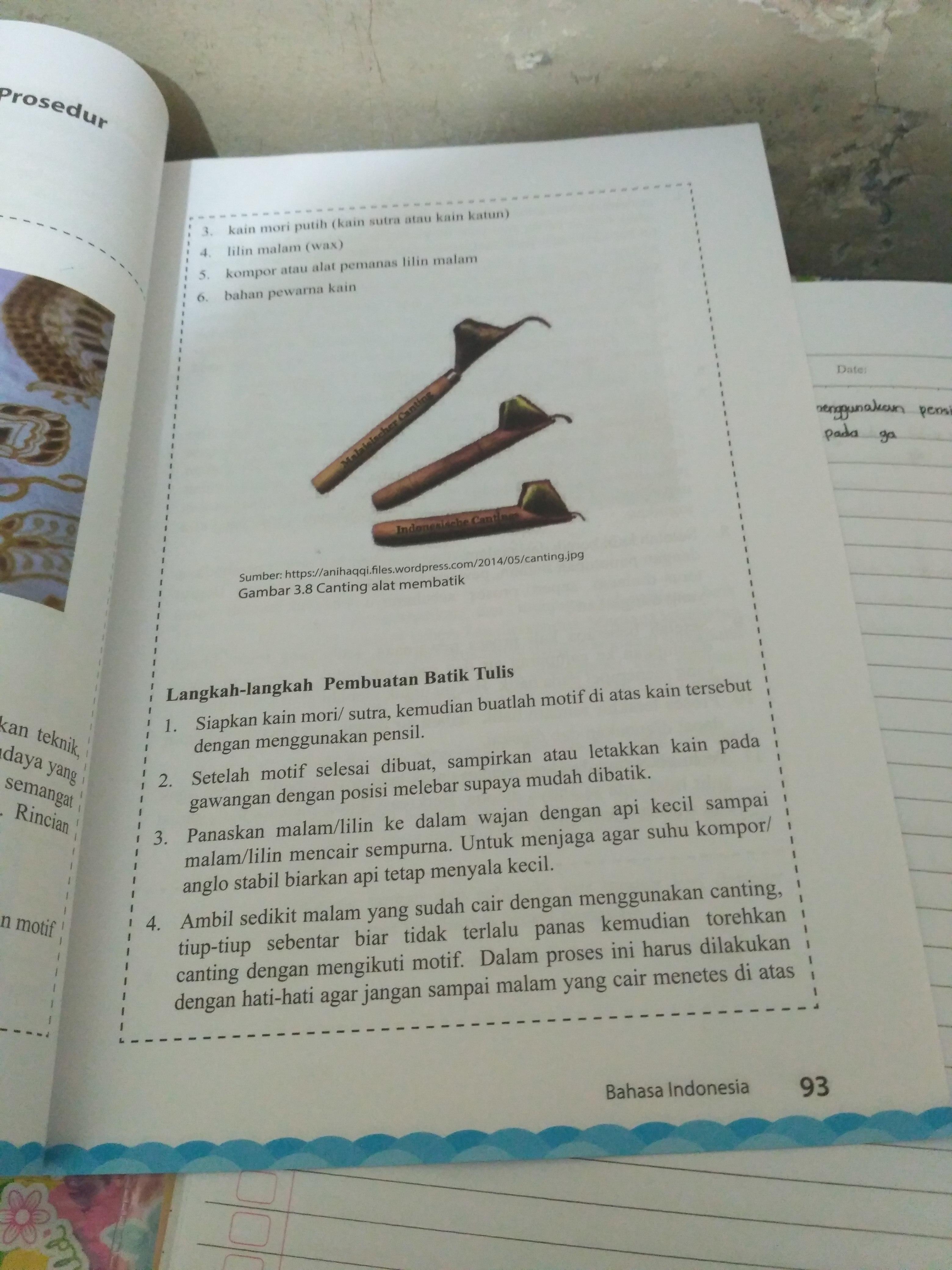 Tahapan Pembuatan Batik Tulis : tahapan, pembuatan, batik, tulis, Membuat, Batik, Tulis