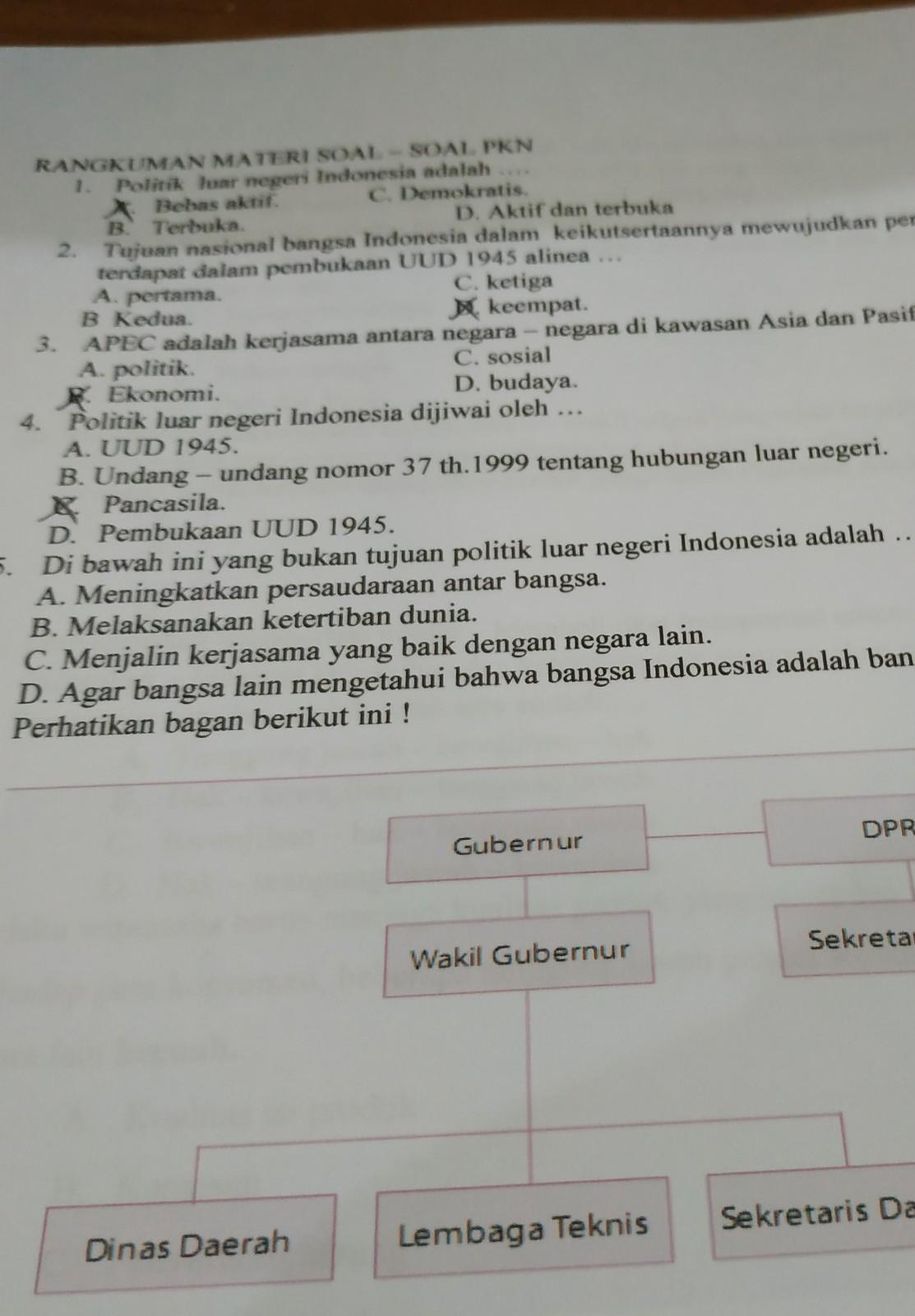 (DOC) sejarah perumusan politik luar negeri indonesia