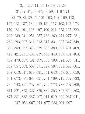 Bilangan Prima 1-1000 : bilangan, prima, 1-1000, Bilangan, Prima, Brainly.co.id