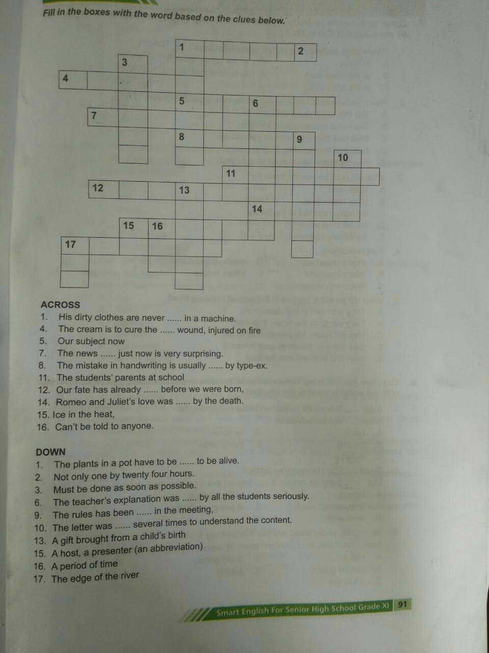 Teka Teki Silang Bahasa Inggris : silang, bahasa, inggris, Tolong, Bantu, Ya..., Silang, Bahasa, Inggris, Brainly.co.id