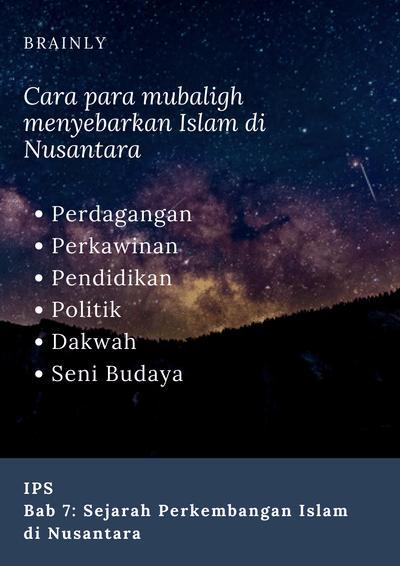 Sebutkan Penyebar Islam Di Pulau Jawa Yang Di Kenal Dengan Walisongo! : sebutkan, penyebar, islam, pulau, kenal, dengan, walisongo!, Bagaimana, Cara-cara, Mubaligh, Menyebarkan, Islam, Nusantara?, Masuknya, Brainly.co.id