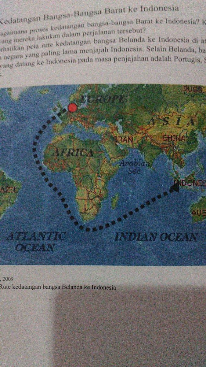 Rute Kedatangan Bangsa Belanda Ke Indonesia : kedatangan, bangsa, belanda, indonesia, Gambar, Perjalanan, Bangsa, Portugis, Indonesia, Spanyol, Rebanas